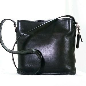 Coach Vintage Collectors Black Leather